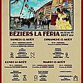 Béziers - location arènes - ouverture des guichets lundi 3 juillet