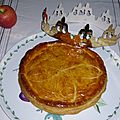 La galette des rois aux pommes et au caramel beurre sal