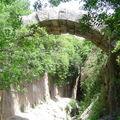 Vestige d'un pont en allant vers Antakia