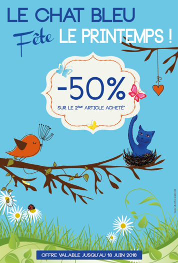 Affiche Prolongations Promos de Printemps