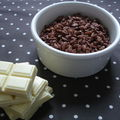 Chocolats de Nol : Coco pops enrobs de chocolat blanc