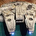 Millennium Falcon#2 with lights