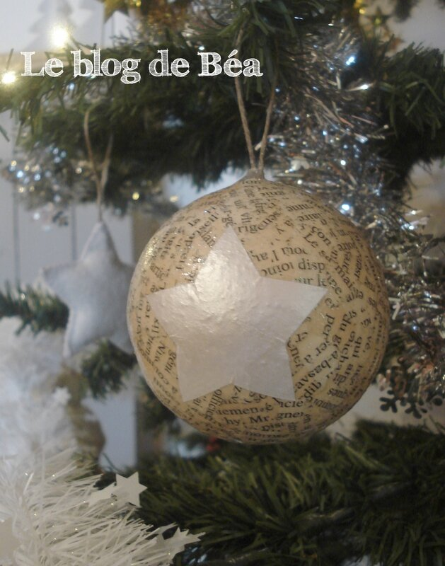 diy boules de no l le blog de b a. Black Bedroom Furniture Sets. Home Design Ideas