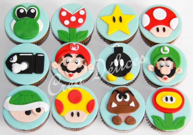 Cupcakes Mario
