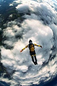 saut en parachute