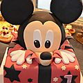 gateau mickey 3 D 001