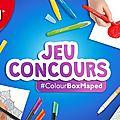 Concours colour box maped