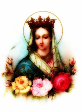 Queen of the Most Holy Rosary-001