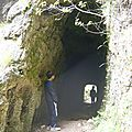 petit tunnel d'accès