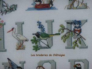 Les oiseaux I J K