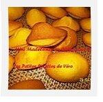 Mini madeleines au clementine curd