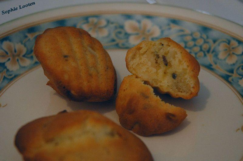 Madeleines amandes et lavande un livre gourmand - Cap cuisine correspondance ...