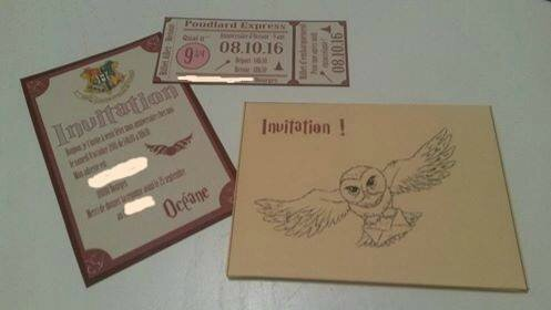 invitations océane