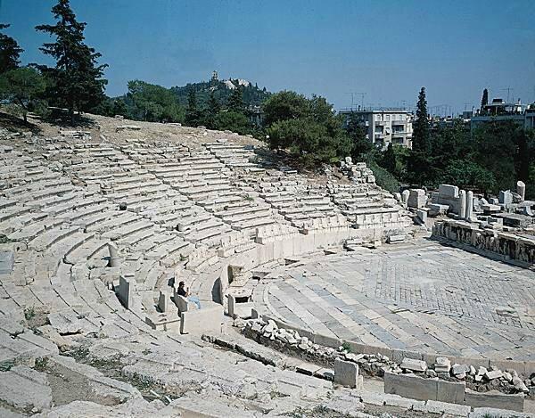grèce antique théâtre