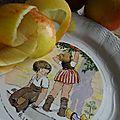 Saveurs ... tarte normande aux pommes
