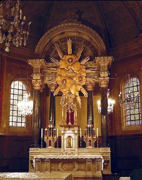 Guichen, église Saint Martin, le maître autel