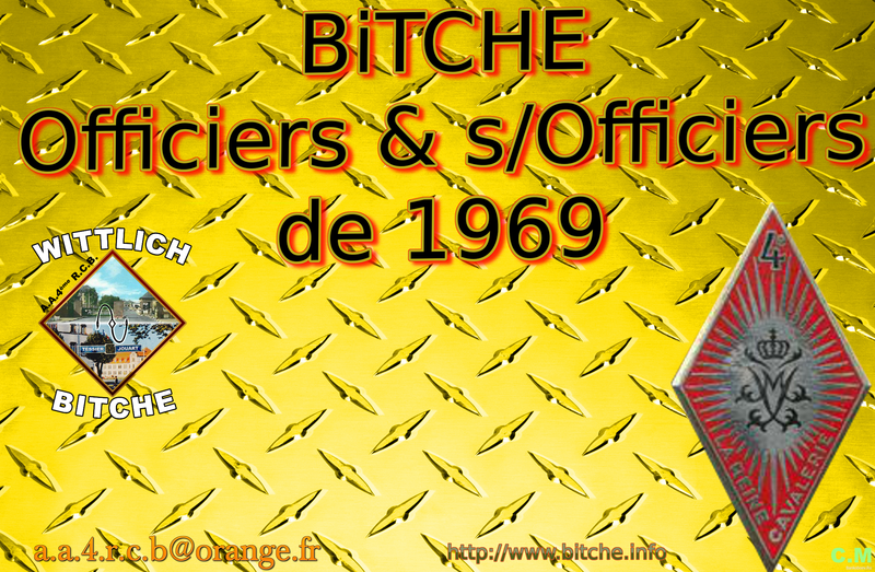 BiTCHE OFFiCiERS sous OFFiCiERS de 1969
