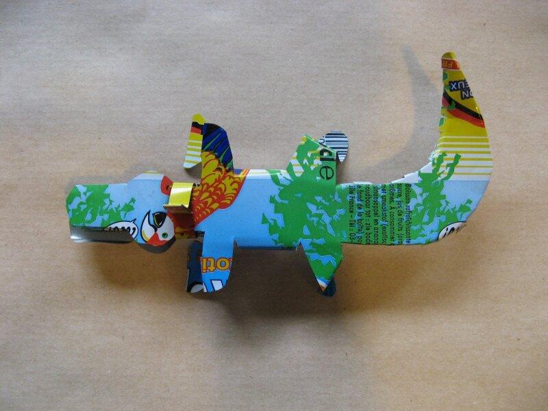 crocodile photo de les animaux en canette d alex l atelier de la r 233 cup