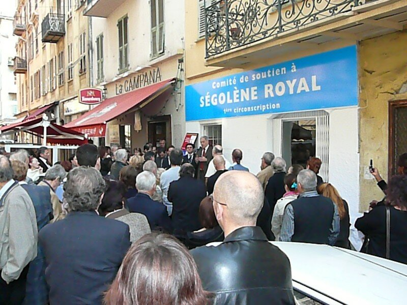 Inauguration de la permanence de Nice-Est