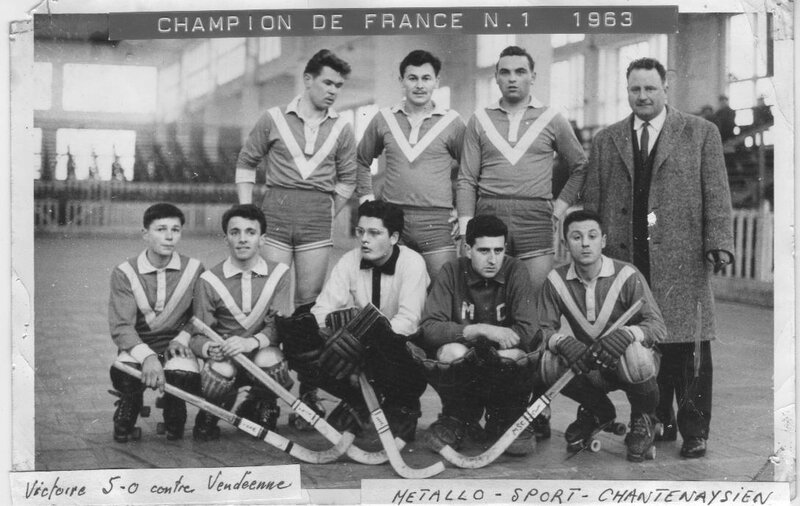 Métallo Champion de France 1963