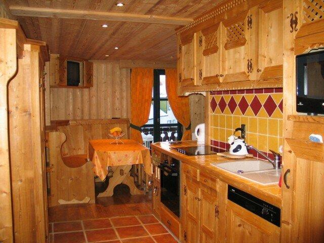 amenagement cuisine studio montagne maison design