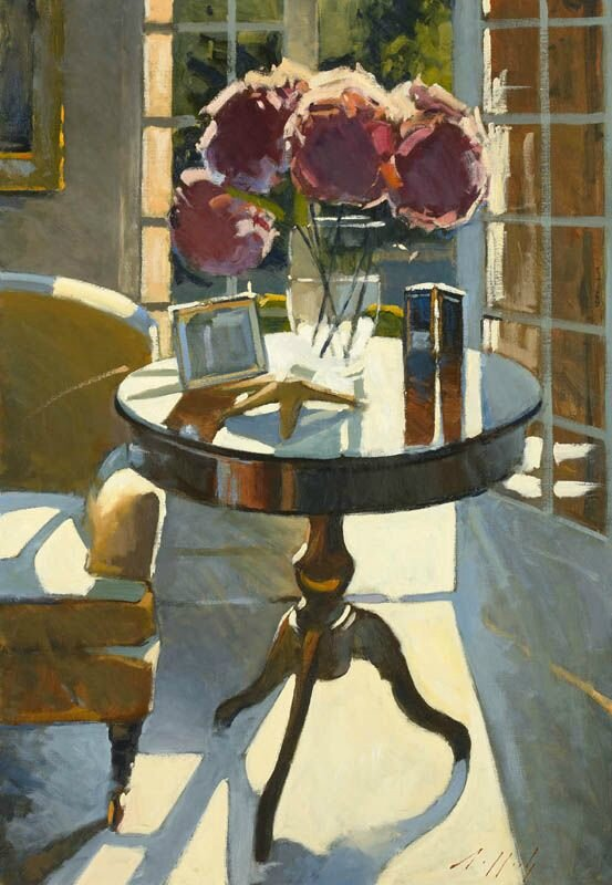 Paul Rafferty - Hydrangeas contre-jour