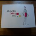 My little color box - octobre