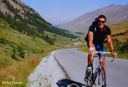 793) montée à vélo au Col Agnel (Queyras)