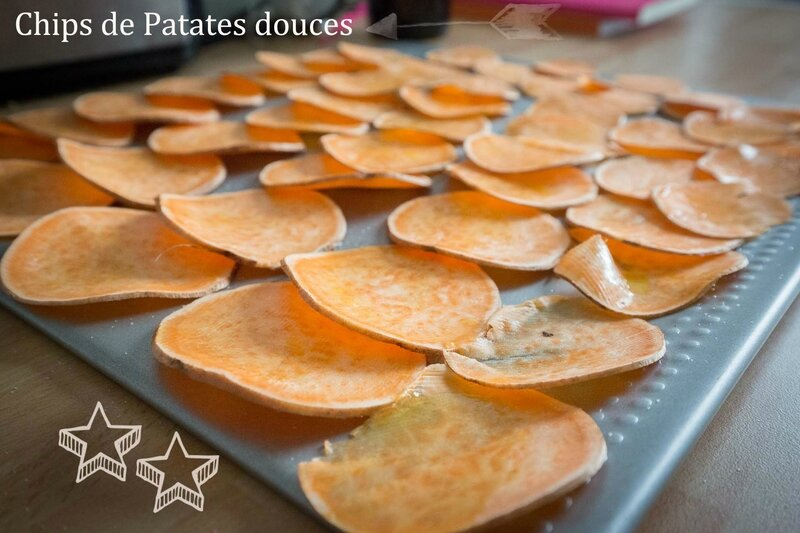 chips de patate douce 1