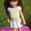 Des tricots pour une grande et petite poupée