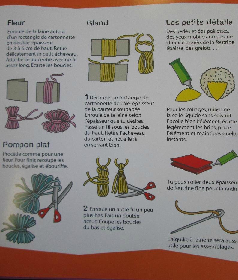 Un livre pour fabriquer des animaux ou des poup es avec for L univers de la laine