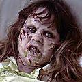 Maquillage de linda blair pour l'exorciste