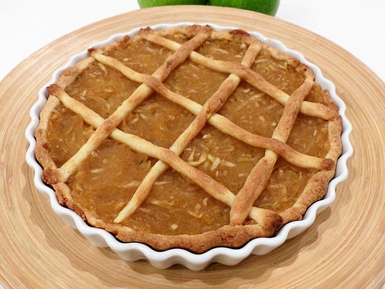 La Szarlotka de Jenna - tarte polonaise aux pommes