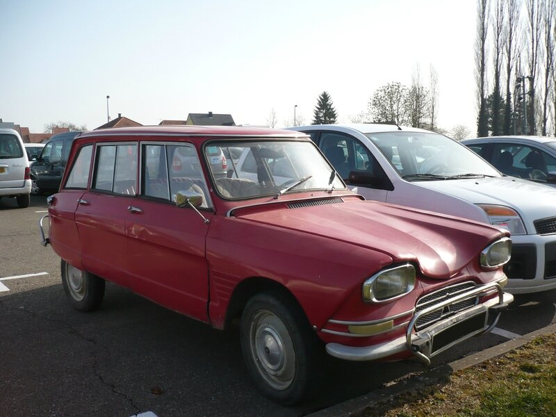 CITROËN Ami 6 break Selestat (1)