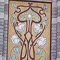 Architecture Art Nouveau-détail