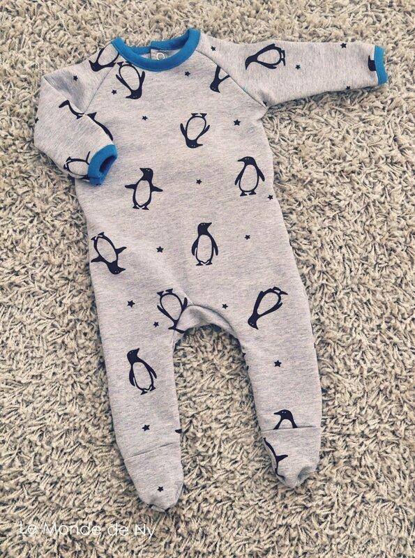 pyjama pingouin devant