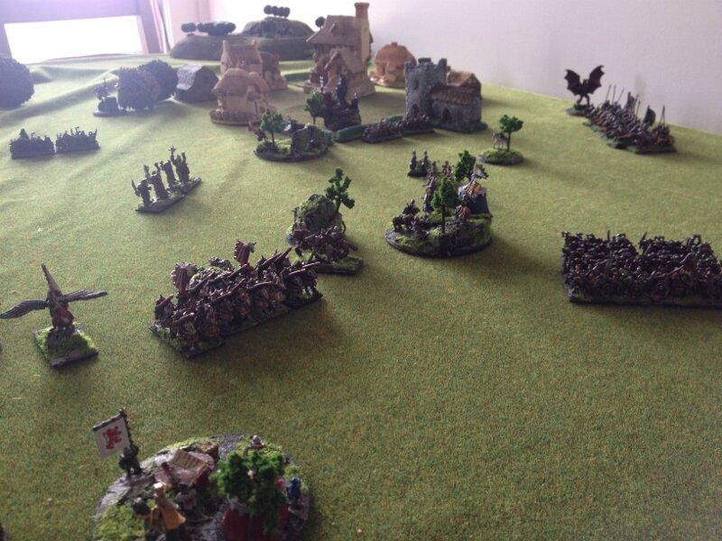Rapport de bataille Bretonnie chaos 2000 points 103370702