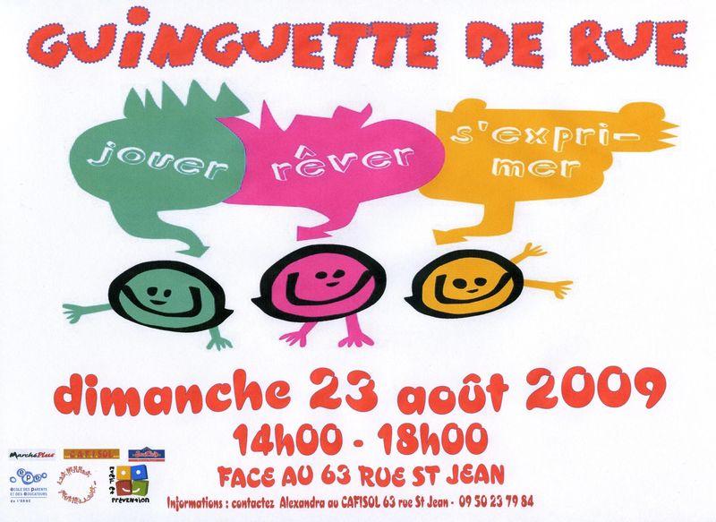 GUINGUETTE DE RUE DU 23 AOUT 2009