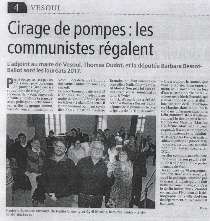 art press vesoul 01022018 cirage de pompe 2017