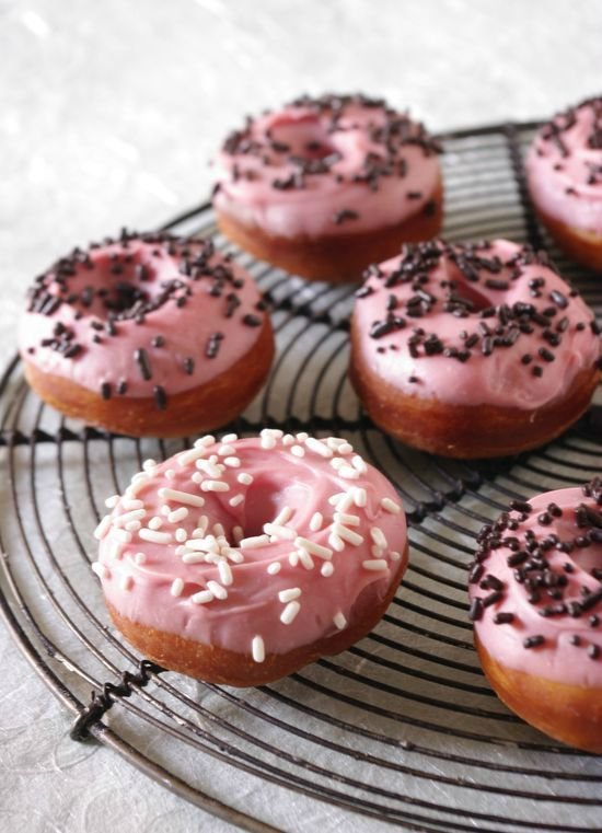 Donuts vanille