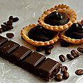 Tartelettes chocolat-café