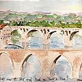 Les deux ponts -Albi-