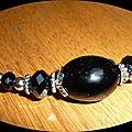 Colliers perles en verre made in crisy