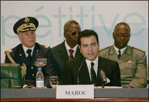 "Prince Moulay Rachid addressed participants of the international forum on agriculture ""Agricultural Davos"" DAKAR, Feb. 04 2005"