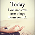 Stress or not stress ?