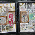 Art journal : 3 + 13 = chat