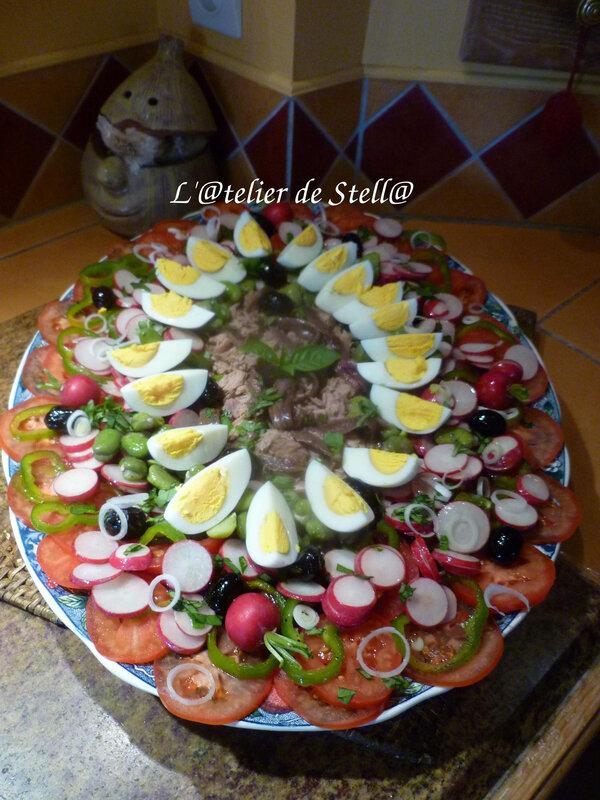 Salade niçoise de Françoise