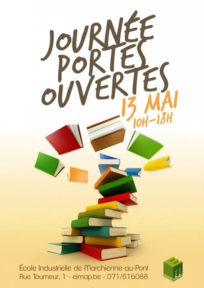 C.-L. Desguin en dédicace à l'école industrielle de Marchienne-au-Pont le samedi 13 mai 2017 entre 10h et 17h.