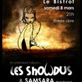 Affiche Showdus & Samsara