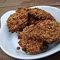 Cookies à l'avoine et aux pépites de chocolat
